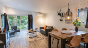 Huisje met sauna Veluwe